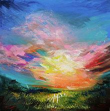 Obrazy - Hravá obloha - 10973833_
