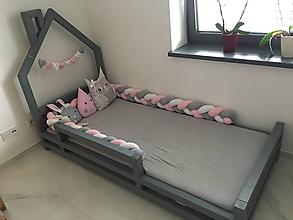 Textil - Zapletanec Ružodymkáč, dĺžka 50-500cm - 10975507_
