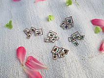 Papier - Mini bylinkové kartičky pre barbie 4 kusy - 10976354_