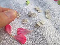 Úžitkový textil - Mini ekologické odličovacie tampóny pre barbie - 10976388_