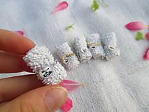 Hračky - Mini balíček prírodnej kozmetiky pre Barbie - 10976429_