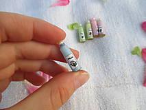Hračky - Mini balíček prírodnej kozmetiky pre Barbie - 10976436_