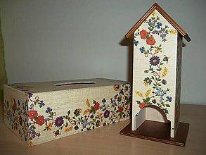 Krabičky - Servítkovník - 10975774_