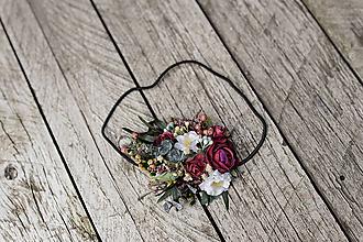 """Ozdoby do vlasov - Kvetinová čelenka na gumičke """"pošepkám ti"""" - 10975224_"""