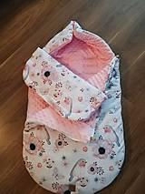 Textil - Zimný fusák do kočíka - 10973646_
