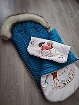 Textil - Zimný fusák do kočíka - 10973648_