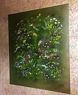 Obrazy - Divoké kvety - 10975701_