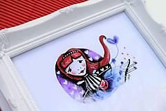 Kresby - -Mini Kresba/víla Ryšaňa- - 10976687_