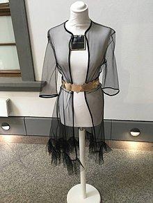 Iné oblečenie - Tylové kimono - 10974291_