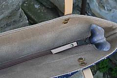 Veľké tašky - Agáta hnedá natur 1 - 10975545_