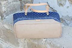Veľké tašky - Agáta hnedá natur 1 - 10975546_