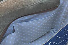 Veľké tašky - Agáta hnedá natur 1 - 10975547_