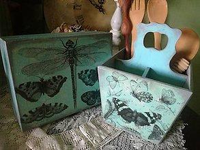 Krabičky - s motýľmi...na želanie - 10974170_