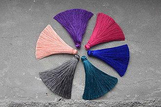 """Polotovary - Hodvábne strapce """"extra"""" rôzne farby, 4.80€/4ks - 10975302_"""