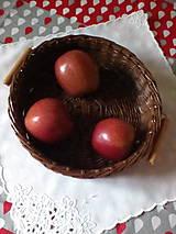 Košíky - Košík - hnedá séria s drevenými rúčkami - 10974514_