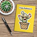 Papiernictvo - Zápisník kaktus - 10974023_