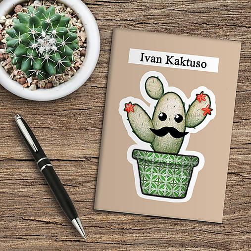 Zápisník kaktus  (bahnový)