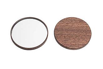 Zrkadielka - Drevené zrkadielko Caleo - 10979037_