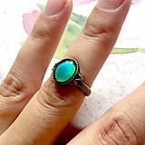 Prstene - Mood Color Changing Bronze Ring / Prsteň meniaci fabru podľa nálady - 10978849_