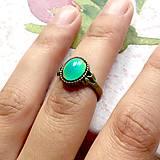 Prstene - Mood Color Changing Bronze Ring / Prsteň meniaci fabru podľa nálady - 10978850_