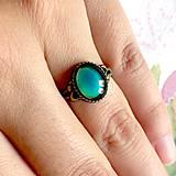 Prstene - Mood Color Changing Bronze Ring / Prsteň meniaci fabru podľa nálady - 10978852_