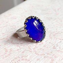 Prstene - Mood Color Changing Steel Ring / Prsteň meniaci farbu podľa nálady - oceľ - 10980323_