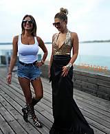 Šaty - Set: sukňa+top - 10977265_