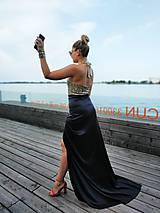 Šaty - Set: sukňa+top - 10977267_