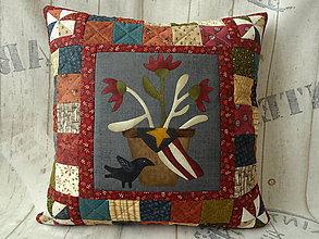 Úžitkový textil - Buttermilk Blossoms... vankúš No.4 - 10979865_