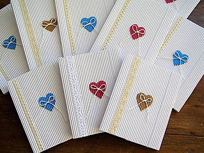 Papiernictvo - Obálky na Foto 10x15cm +CD biela (Ružová) - 10978346_