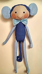Hračky - Opičiak Modrý - 10978049_