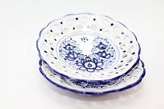 Nádoby - Modrý tanierik - 10978591_