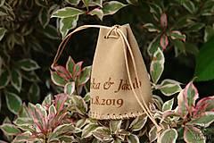 Peňaženky - Kožený mešec na 80 mincí s menami - 10979456_