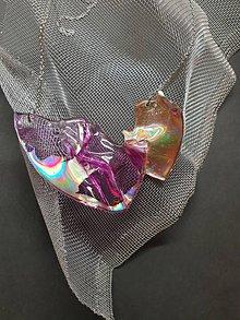 Náhrdelníky - Recyklované CéDečko - náhrdelník - 10980542_