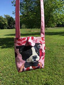Detské tašky - detská kabelka so psíkom - 10978324_