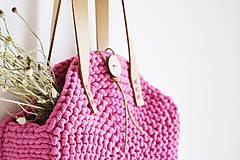 Kabelky - Okrúhla taška/kabelka - pink - 10979008_