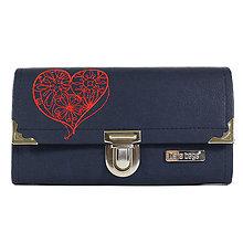 Peňaženky - Purse Big no.832 - 10977901_