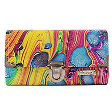 Peňaženky - Purse Big no.848 - 10978004_