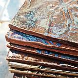 Dekorácie - Keramika, Kachličky Moře - 10978517_
