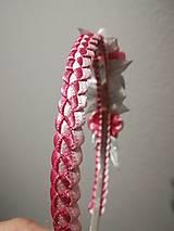 Ozdoby do vlasov - Čelenka Sedmokráska mini - 10979556_