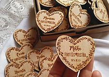 Darčeky pre svadobčanov - Svadobné menovky . lúčne kvety - 10980665_