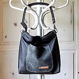 Veľké tašky - Casual leather bag No.5 - 10979308_