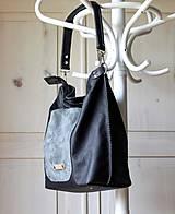 Veľké tašky - Casual leather bag No.5 - 10979314_