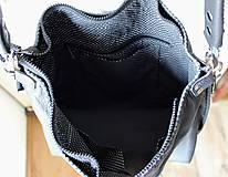 Veľké tašky - Casual leather bag No.5 - 10979315_