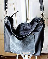 Veľké tašky - Casual leather bag No.5 - 10979316_