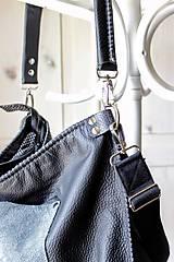 Veľké tašky - Casual leather bag No.5 - 10979318_