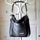 Veľké tašky - Casual leather bag No.5 - 10979319_