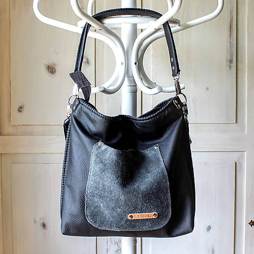 Casual leather bag No.5