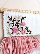 Dekorácie - Romantická nástenná dekorácia - 10978626_