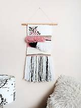 Dekorácie - Romantická nástenná dekorácia - 10978627_
